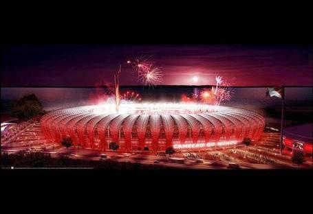 Vista del proyecto del estadio de Morumbi, en Sao Paulo (Brasil) | EFE